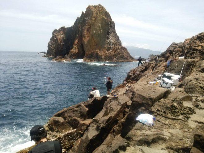 三本岳マカド根に22人渡船!大混雑でした!